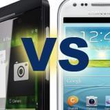 Galaxy S3 vs BlackBerry Z10-