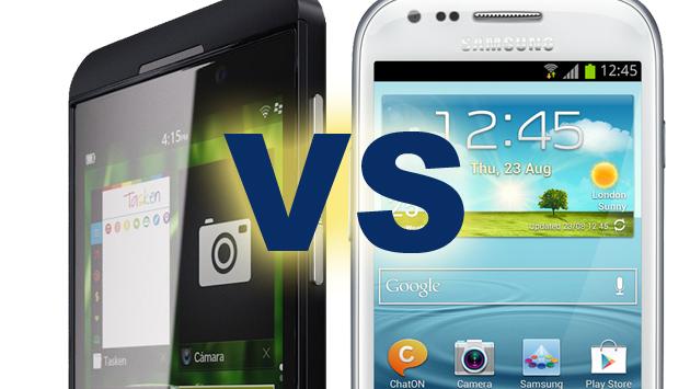 Galaxy S3-Z10 vs BlackBerry
