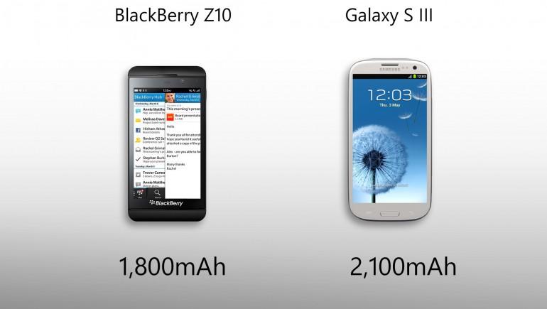 Galaxy S3 vs BlackBerry Z10-3