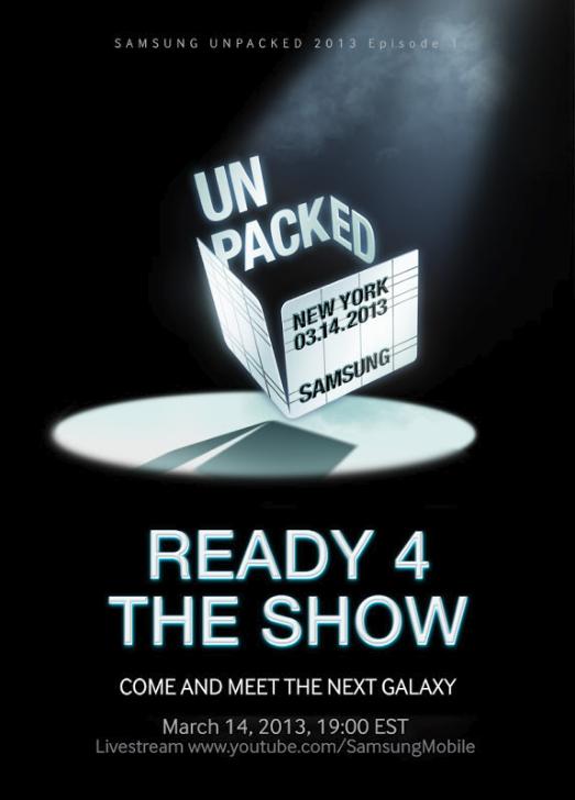 Galaxy S4 invitaciones