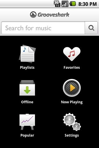 Grooveshark Android