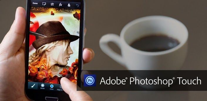 Adobe Photoshop Touch para Smartphones disponible en Google Play
