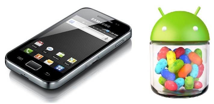 Actualizar Samsung Galaxy Ace a Android Jelly Bean