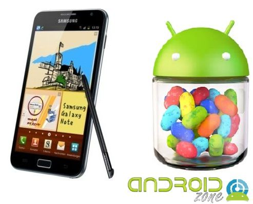 Samsung Galaxy Note Jelly Bean