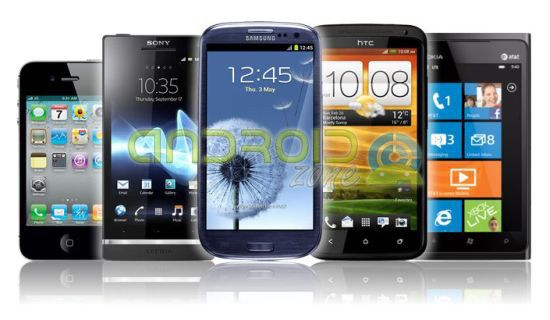 Smartphones Android 2013-