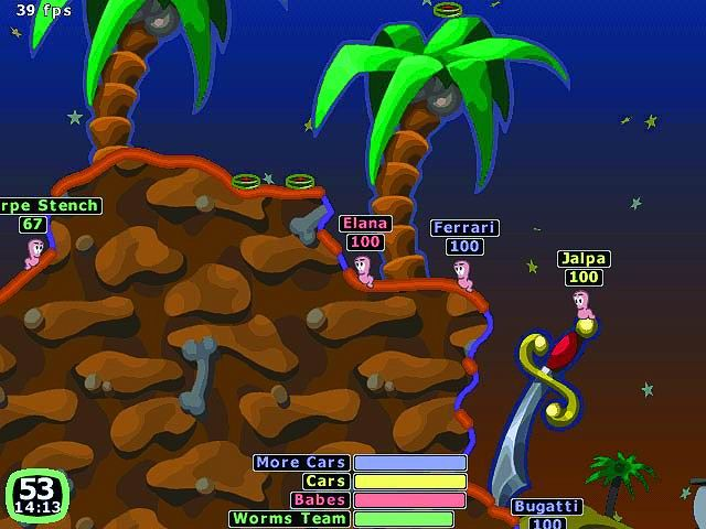 Worms_2_Game_play