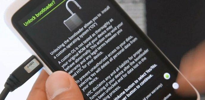 Desbloquear Bootloader HTC