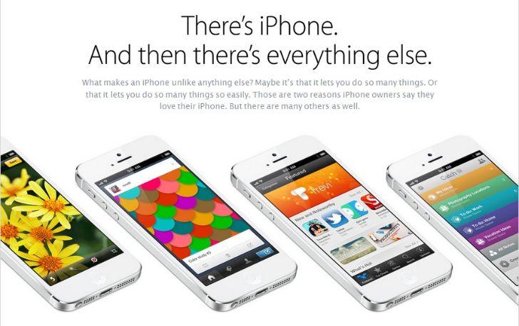 Galaxy S4 Apple