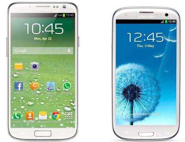 Galaxy S4 Galaxy S3