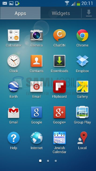 Galaxy S4 firmware
