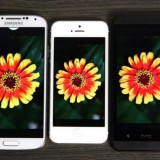 Galaxy S4 vs iPhone 5 vs HTC One