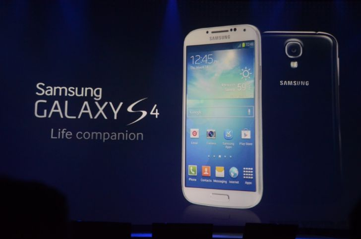 Samsung Galaxy S4 disponible a la venta a partir del 27 de abril