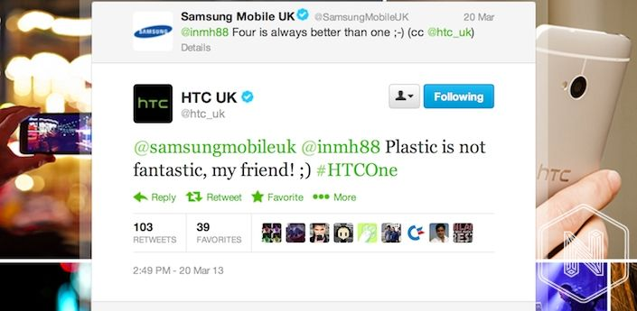 Samsung vs HTC
