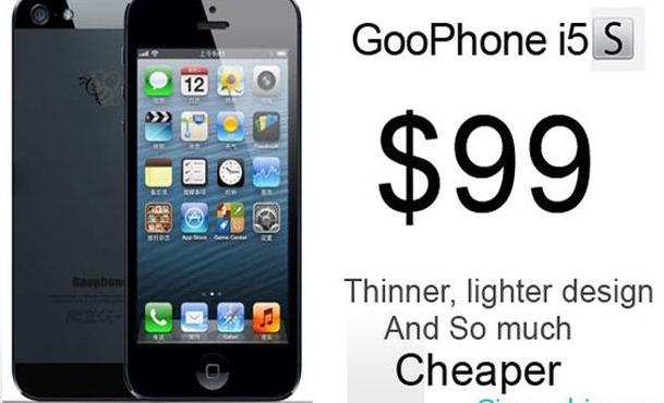 iPhone 5S - GooPhone 5s