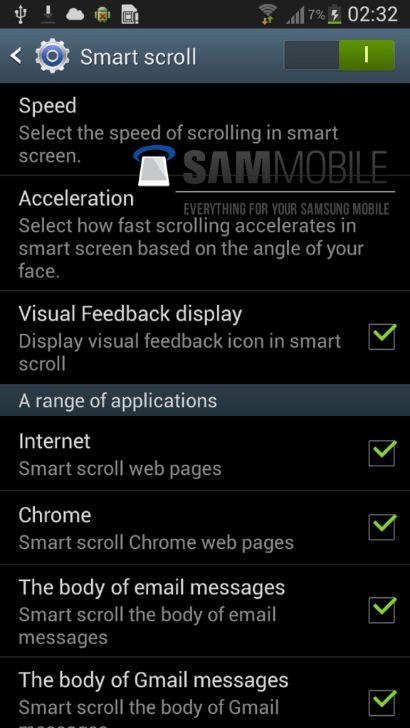 Smart Scroll Galaxy S3 (4)