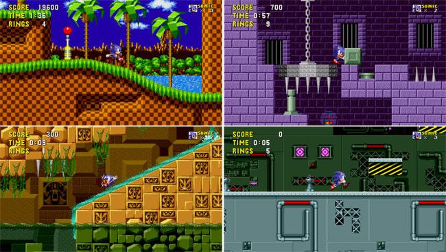 Sonic The Hedgehog llegará en Abril a Google PLAY