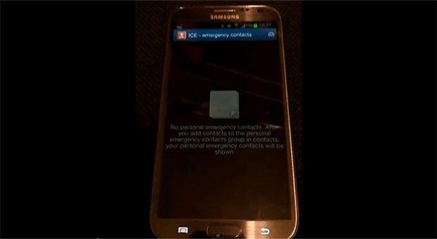 Vulnerabilidad Galaxy Note 2