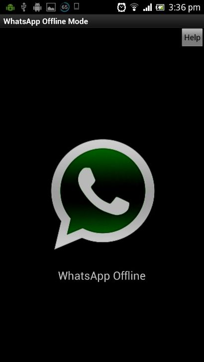 WhatsApp Offline Mode-