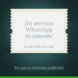 WhatsApp pago-