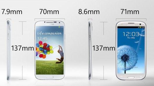 Galaxy S4 Vs S3