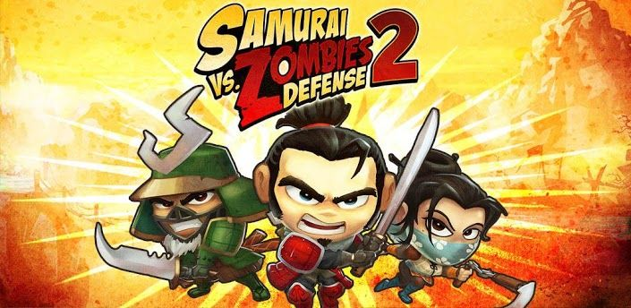 samurai vs zombie defense 2