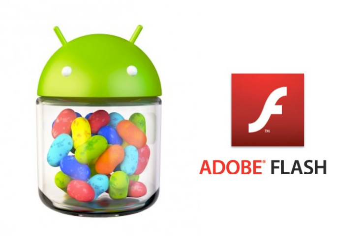Flash Player en Jelly Bean