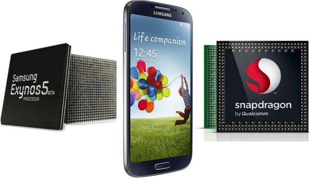 Samsung Galaxy S4 Octa-Core vs Galaxy S4 Quad-Core