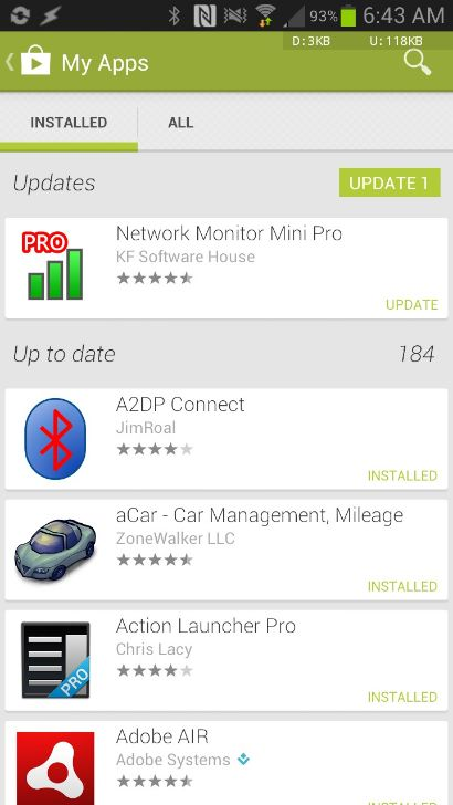 Google Play Store 4.0.27-3