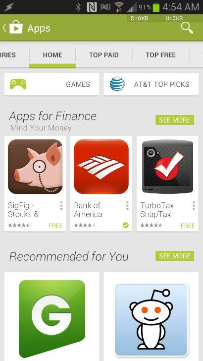 Google Play Store 4.0.27