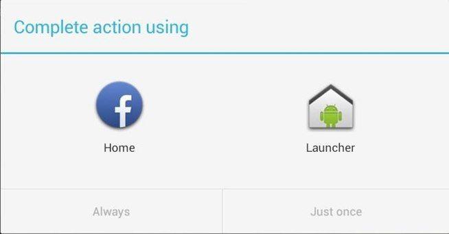 Instalar Facebook Home
