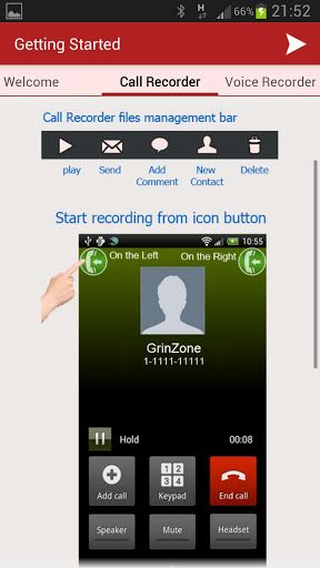 MP3 InCall Recorder-