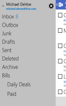 Outlook para Android 3
