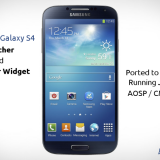 Samsung Galaxy S4 Launcher