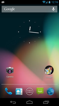 Android 4.1 Jelly Bean Home