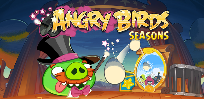 Angry Birds Seasons Abra-Ca-Bacon