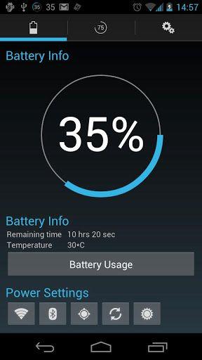 Reborn-2 Battery widget