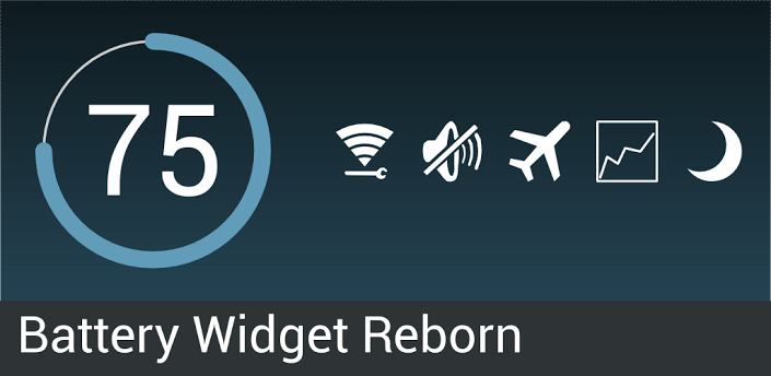 Reborn-3 Battery widget