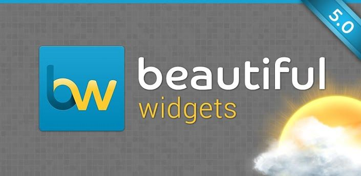 Beautiful Widgets-
