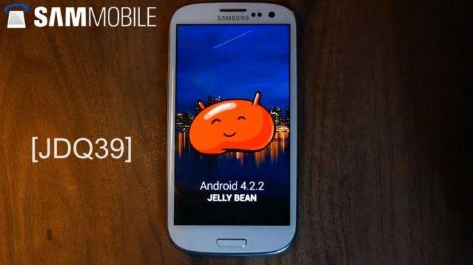 Galaxy S3 con firmware del Galaxy S4