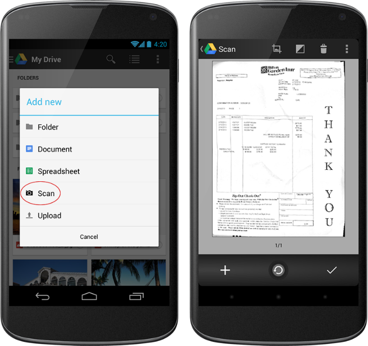 Google Drive OCR