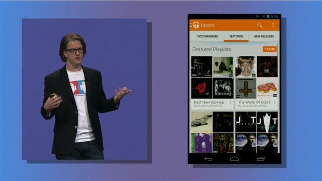 Google Play Music Explore