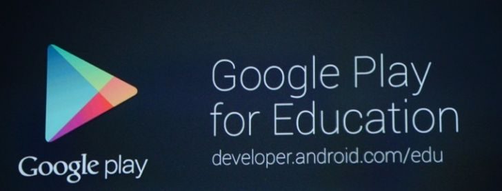Google Play for Education Google IO