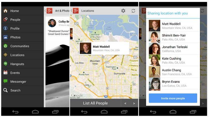 Google Plus 4.0-