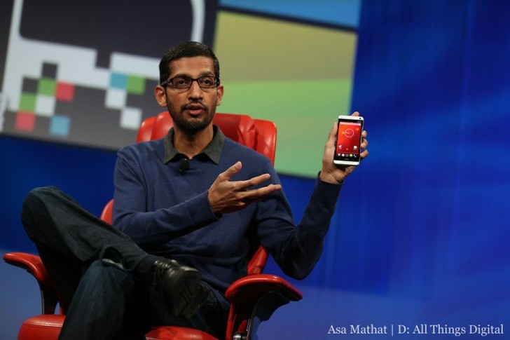 HTC One Google Edition Sundar Pichai