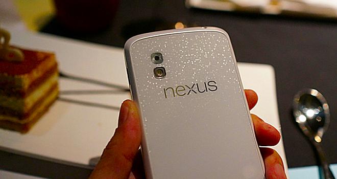 Nexus 4 blanco