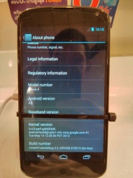 Nexus 4 con Android 4 (3)