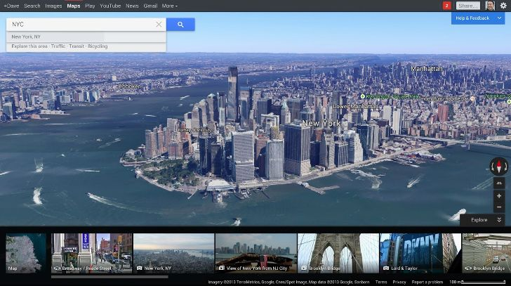 Nuevo Google Maps Carrousel