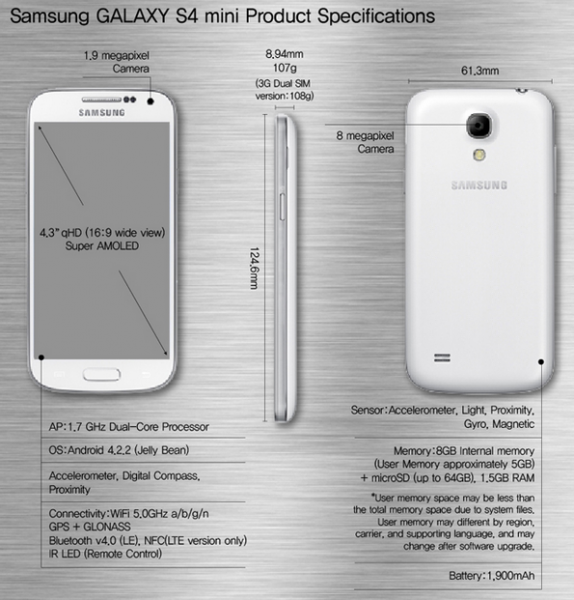 Samsung Galaxy S4 Mini Oficial-2
