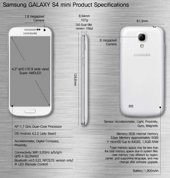 Samsung Galaxy S4 Mini Oficial-2