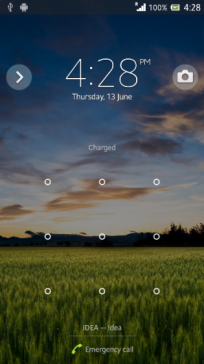 Android 4.2.2 Sony Xperia Z 7